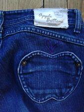 Apple Bottoms Women's 7/8 Slim Boot Dark Wash Stretch Jeans 27W x 32L