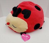 """Mochipuni Ladybug Plush - Nihan Auto Toy Co LTD - Soft - Japanese - 18"""" - New"""