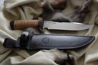 Russisches Messer, Jagdmesser A&R Zlatoust -- Zlatoust Kork