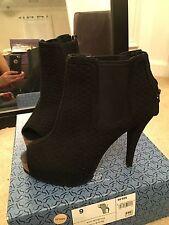 Vera Wang $89.99 New women's sz 9.5 boots open toe booties heels b94