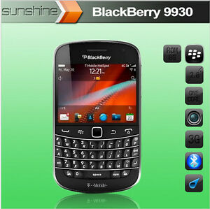 Original BlackBerry Bold Touch 9930 Mobile Phone Internal 8GB 5MP 3G Unlocked