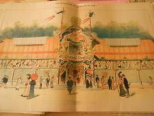 Vue extérieure de La Maison du Rire Humour Print 1905