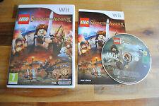 Jeu LEGO LE SEIGNEUR DES ANNEAUX pour Nintendo Wii PAL COMPLET (CD OK)
