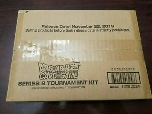 Dragon Ball Super Card Game Series 8 Tournament Kit Sealed!