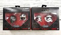 STAR WARS Titanium Black Series Helmets # 01 & # 02