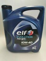 Motoröl Elf Evolution 700 STI 10W40 Renault Fiat Mercedes VW 5 Liter