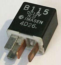 Mazda Imasen B115 Black Relay 12V 4 PIN 4D26 - GENUINE