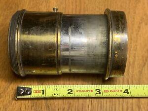 Antique Brass Camera Lens