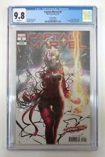 Captain Marvel #8 CGC Graded 9.8 NM/M 1st Star Appearance Carnage-ized Variant