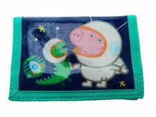 Peppa Pig George Wallet With Inside ZIPPED Pocket for Coins Card and Cash