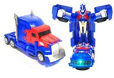 new transformer Truck Toy 2 in 1 Truck Realistic Robot for Girls and Boys
