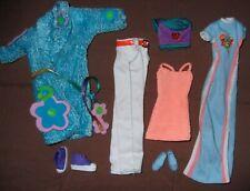 """PrevalentBest Sling Sequin Sky Blue Dress for 11/"""" s Dolls JB"""