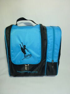 AMDance Designs NEW AQUA Hair and Cosmetics Bag