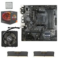 AMD RYZEN 7 2700X + ASUS B450M-A MOTHERBOARD + 16GB RAM 3200MHZ CORSAIR BUNDLE