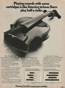 Pickering -XV-15 Phono Cartridge - Original Magazine AD -