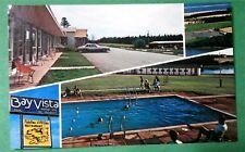 Ray Vista Motor Inn Prince Edward Island Canada 1970s Hotel Postcard