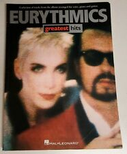 EURYTHMICS GREATEST HITS SONGBOOK PIANO VOCAL GUITAR SHEET MUSIC BOOK