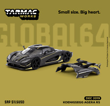 Dispo Fin Mai - TARMAC WORKS 1/64 - Koenigsegg Agera RS Griphon (No HotWheels)