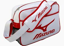 Mizuno Enamel Shoulder Bag Small 16DA810-76 Brand New White/Red