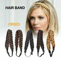 Synthetic Wig Braided Hair Band Elastic Twist Headband Princess Hair Fashion