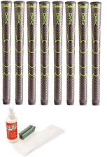 8 Winn Dri-Tac AVS MIDSIZE + 1/16th Black Grips 6DT-BK Standard + Free Grip Kit