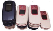 11 Lot Samsung E2210B Flip Cellular Basic Phone GSM Bluetooth FM Radio Used