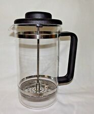Bodum French Press Coffee Maker Glass 34oz 8 Cup 1L Bistro Model NEW Switzerland