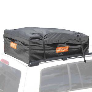 Waterproof Car Roof Top Rack Bag Carrier Travel Luggage Cargo Storage All Weathe