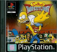 The Simpsons: Wrestling Sony Playstation 1 PS1 3+ Fighting Game