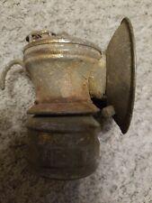 Vintage Auto-lite Miner's Head Lamp Universal Lamp Co