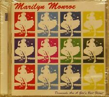 MARILYN MONROE 'DIAMONDS ARE A GIRL'S BEST FRIEND' 18-TRACK CD SEALED
