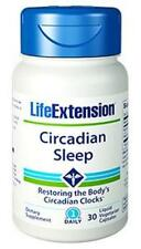 3X $16.60 Life Extension Circadian Sleep Melatonin Sleep Wake Cycle Insomnia