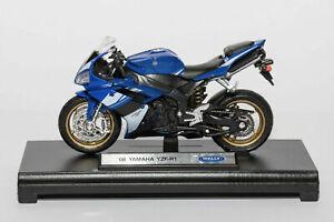 1:18 Scale Yamaha YZF-R1 Motorcycle Model Motorbike Diecast Sport Bike Toy Kids