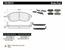 Disc Brake Pad Set Front Centric 102.08151