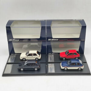 Hi Story 1:43 Nissan March Turbo 1985 HS285 Resin Model Car Limited Collection