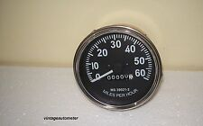 New Replacement Willys Jeeps Speedometer 1947 55 Chrome bezel