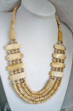 interessante Knochen Kette Indianer Style Halskette ModeSchmuck aktuell NEU +TOP