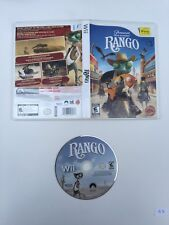 Rango (Nintendo Wii, 2011) No Manual