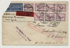 D.Reich Katapultpost Berlin 1929 zum Schnelldampfer BREMEN (44802)