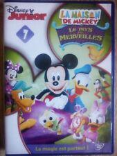 DVD La Maison de Mickey n°7 - Le Pays Merveilles - Disney Junior
