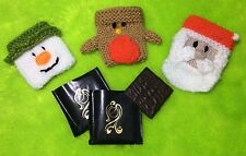 Knitting Pattern-Natale Nuovo di zecca copre si adatta dopo otto-Babbo Natale, pupazzo di neve, Robin