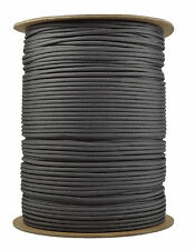 Charcoal - 550 Paracord Rope 7 strand Parachute Cord - 1000 Foot Spool