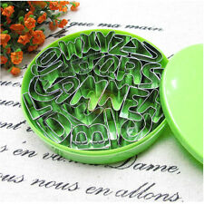 26*s Alphabet Letter Number Stainless Steel Cake Cookie Fondant Cutter Mold Set