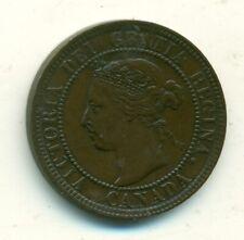 Canada 1 cent 1901 EF/AU