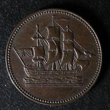 PE-10-32 Ships Colonies & Commerce token PEI Canada SCC-32 Breton 997