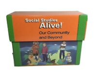 Grade 3 Social Studies Alive! Teacher Resources Kit; Transparencies Maps Books..