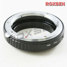 Macro confirm Nikon F AI Lens to Pentax K Mount PK Adapter K100D K-7 5 x r K-01