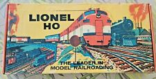 LIONEL HO 5705 NAVY TRAIN SET FROM 1958 WITH SET BOX