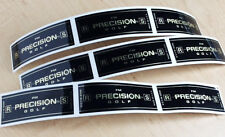 Set of 18 Precision R/S Made in USA Generic Golf shaft labels