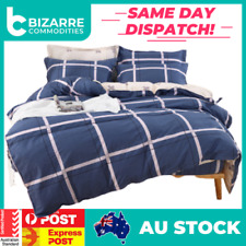 Comfortable Semiactive 100% cotton bedding set All size 4 piece double line